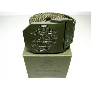 US Marine CORP USMC Army Tactical BDU Duty Belt OD