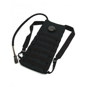 Molle 3L Hydration Water Backpack Black