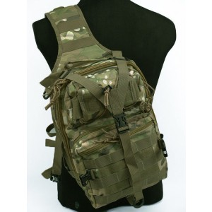 Tactical Utility Gear Sling Bag Backpack Multi Camo L