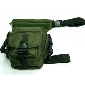 Drop Leg Utility Waist Pouch Carrier Bag OD