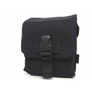 Flyye 1000D Molle M60 100rds Ammo Magazine Pouch Black