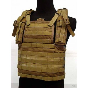 Flyye 1000D Tactical Molle RRV Platform Vest Coyote Brown