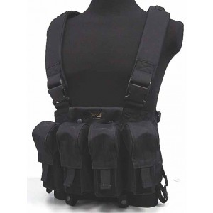 Flyye 1000D Tactical LBT AK Magazine Chest Rig Vest Black