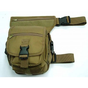 Drop Leg Utility Waist Pouch Carrier Bag Coyote Brown