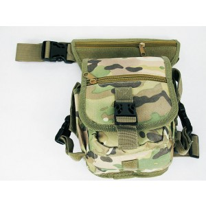 Drop Leg Utility Waist Pouch Carrier Bag Multi Camo