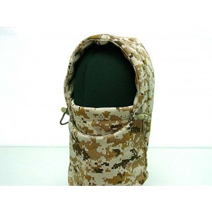 Balaclava Fleece Hood Full Face Head Mask Digital Desert Camo