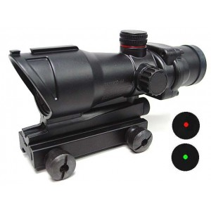 ACOG Type 1x30 Red/Green Dot Sight Scope w/QD Suitable for any 11 & 20mm Mount #A