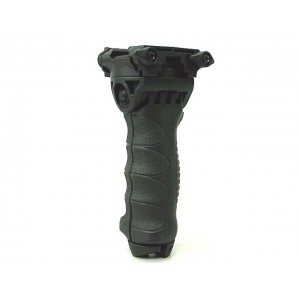 Tactical 20mm QD RIS Spring Total Bipod Foregrip Grip Black