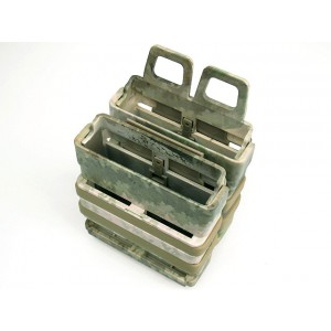 Molle FastMag Magazine Clip Set for 7.62 AK/M14 A-TACS Camo