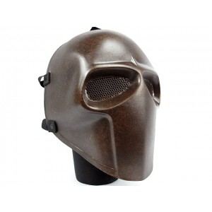 Army of Two Full Face Airsoft Fiberglass Mask Brown