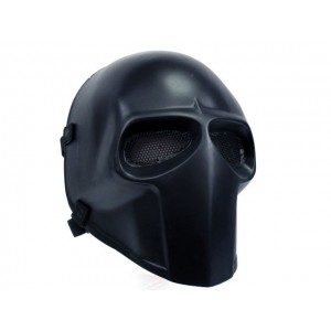 Army of Two Full Face Airsoft Fiberglass Mask Black