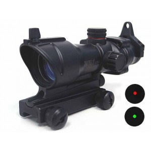 ACOG Type 1x30 Red/Green Dot Sight Scope w/QD Suitable For Any 11 & 20mm Mount