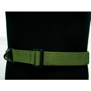 Tactical CQB Heavy Duty Rigger Belt OD M