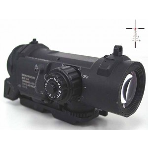 4x Elcan SpecterDR Type Red Dot Sight Scope Black
