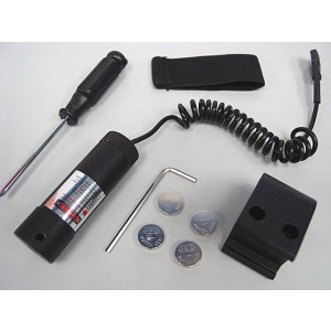 Visible Red Laser Aiming Sight Pointer w/20mm RIS Mount