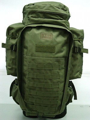 9.11 Tactical Full Gear Rifle Combo Backpack OD