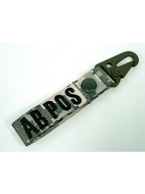AB POS Blood Type Identification Strap Digital ACU Camo