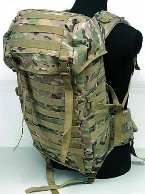 Molle Style Patrol Pack Assault Backpack Multi Camo