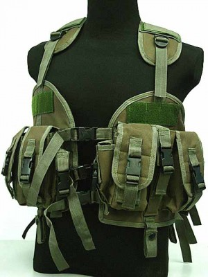 US Navy Seal CQB LBV Modular Assault Vest OD
