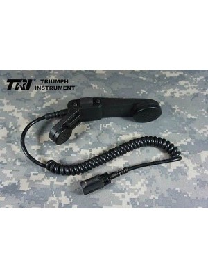 TRI Original H-250 PTT Handset Phone For TRI PRC-152 6-PINS Radio Devgru