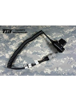TRI Original MSA U94 B PTT 5/6-PINS For TRI PRC-152 Radio